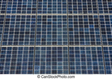 Series of Photovoltaic Solar Panels