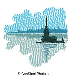 Istanbul drawing