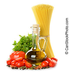 tomatoes,pasta and olive oil - tomatoes, pasta and olive oil...