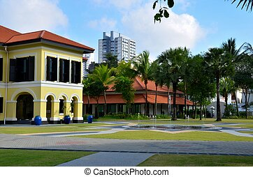 Malay Heritage Centre and fountain, - The Malay Heritage...