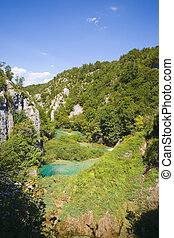 plitvicka jezera national park - the most beautiful part of...