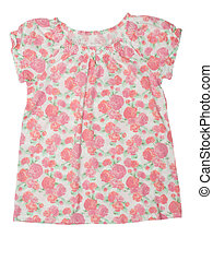 blouse with a floral pattern - summer blouse with a floral...
