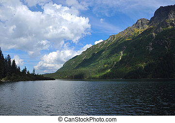 Morskie Oko - Tatra Mountains Morskie Oko View in the summer