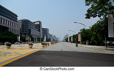 Putrajaya - Central Avenue Putrajaya Persiaran Perdana