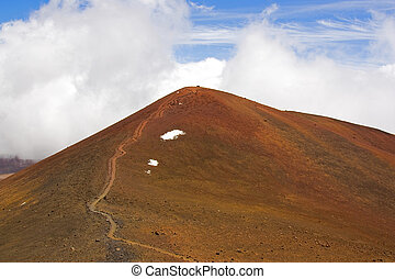 The summit of Mauna Kea and Hawaii - The summit of Mauna Kea...
