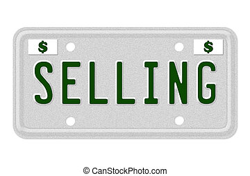 Selling Car  License Plate