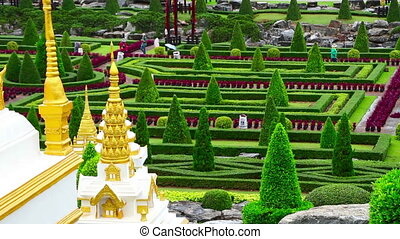 Nong Nooch tropical garden in Thailand