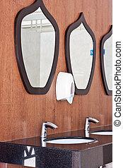gabinetto, specchio