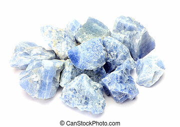 blue calcite - This is called blue calcite with a mineral