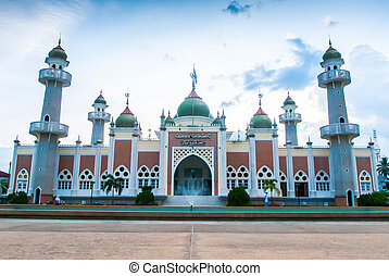 Pattani central mosque, Thailand - Pattani central mosque in...