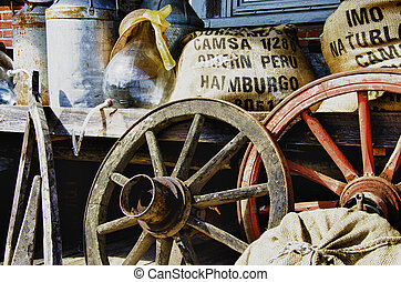 Old items from the farm - HDR - Nostalgia - Old items from...