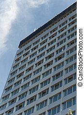 Big Apartment Building in sofia bulgaria