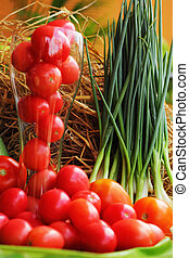 蔬菜, 新鮮,  -, 番茄