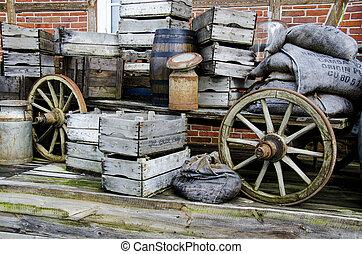 Nostalgia - Farm wagon