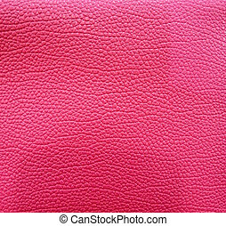 Pink leather background