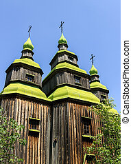 old church wooden