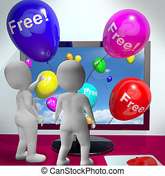 Balloons With Free Showing Freebies and Promotions Online -...