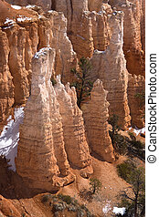 Bryce Canyon Formations - A Bryce Canyon Hoodoos found in...