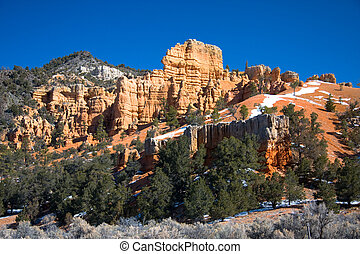 Red Rock Canyon - Red Canyon is located along Scenic Byway...