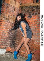 Windy City - A beautiful young Asian girl with a sultry look...