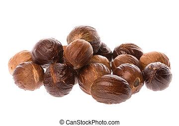 Nutmegs Macro Isolated