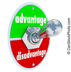 Competitive Advantage Vs Disadvantage Toggle Switch Choice -...