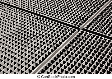 metal grid backgound - abstract metal grid backgound