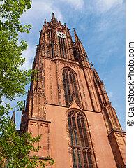 Frankfurt Cathedral - St Bartholomaus Frankfurter Dom...