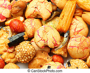 Japanese traditional snack