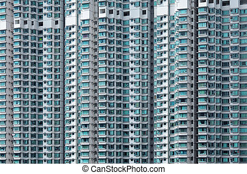 Hong Kong residential building