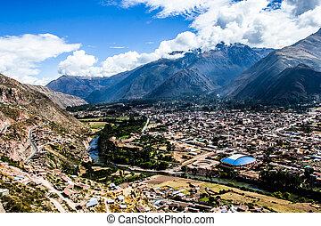Urubamba River in Peru