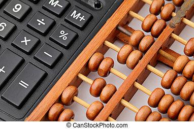 calculadora, ábaco