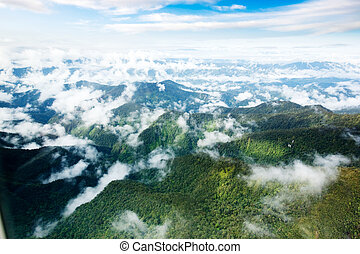 Indonesian Mountains - A mountain range in Papua, Indonesia