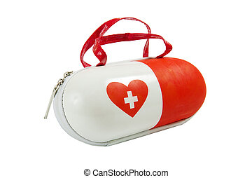 Small medica first aid kit - children bag - Small medical...