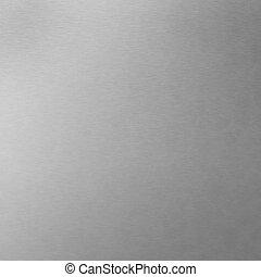 Brushed Aluminum - Background texture of brushed aluminum -...