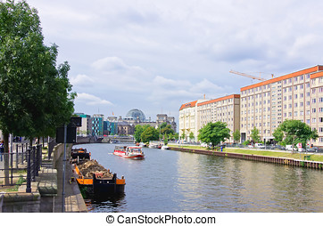 Berlin, Germany - Berlin, capital city of Germany: View...