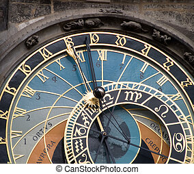 Astronomical Clock, Prague - The astronomical clock in the...