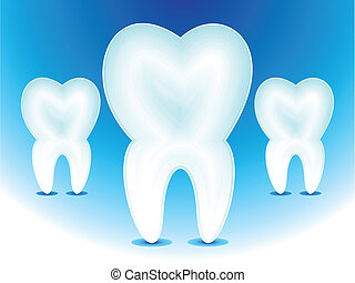 abstract teeth icon vector