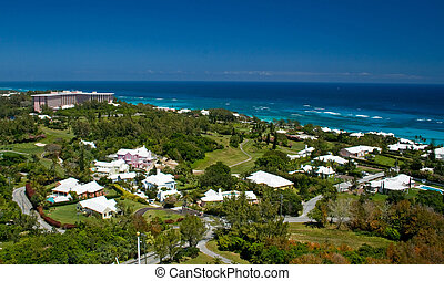 Bermuda South Shore - A view of the South Shore of Bermuda