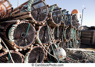 Lobster Trap Detail