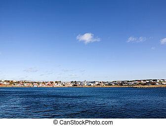 Norwegian Coastal Town