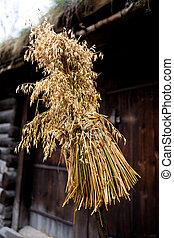 Bird Feeder - An old fashioned norwegian bird feeder