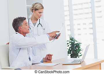 Medical team at the office