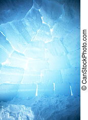 Igloo Interior Background - An igloo interior background...