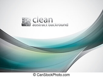 Clean Abstract Background - Clean abstract background...