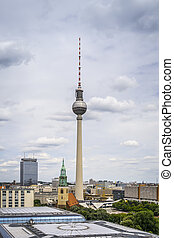 Television Tower Berlin - An image of the Television Tower...