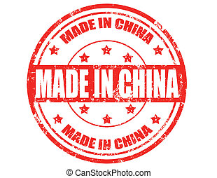 Made in China -stamp