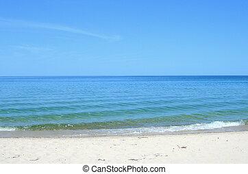 Scenic Michigan lakes