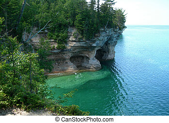 Scenic Michigan lakes