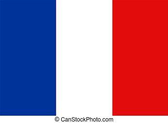 旗, の, フランス